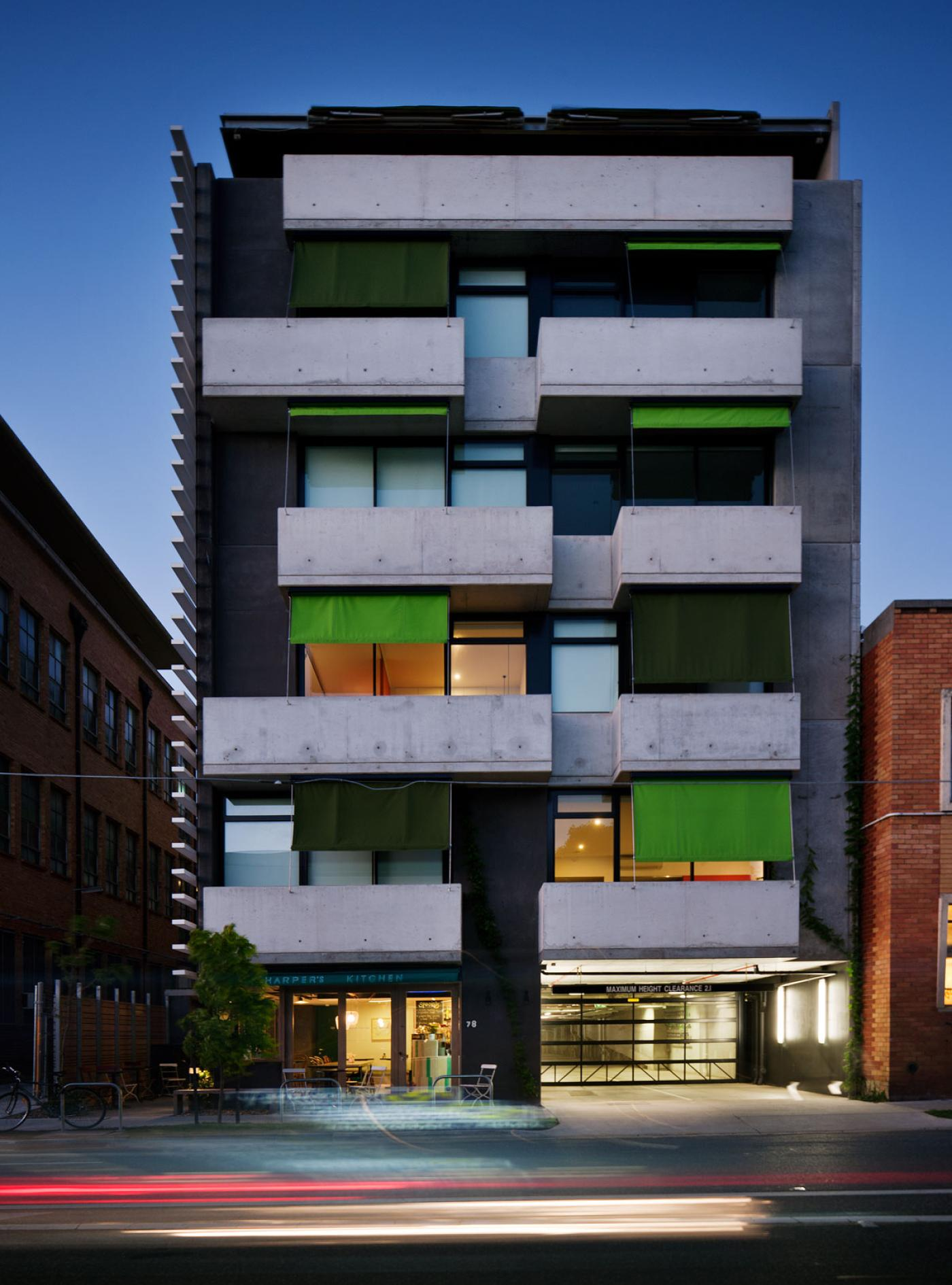 Completed In 2009 Harper Lane Delivers 72 Thoughtfully Designed One And Two Bedroom Apartments Studio Office Spaces